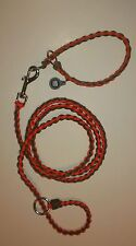 Zombie survival 550 paracord dog collar and leash combo! All custom