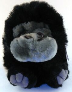 Max the Gorilla Ape RETIRED Puffkins Bean Bag Plush 1997 Swibco with Hang Tag