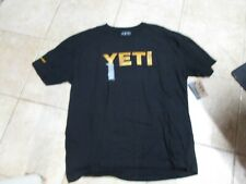 Yeti Brand (Redfish Logo) T Shirt (Xxl) Nwt $25 Black W/Great Company Logo