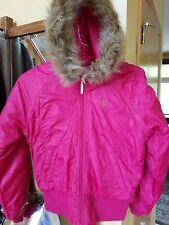 south pole pink  jacket for girl size S