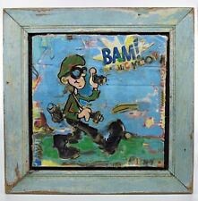 Funky POP ART Mixed Media Collage by DANNY O (date: 1998) - Vintage Mint