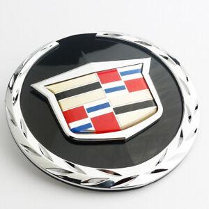 Crest Logo Grille Front Emblem Badge Fit 2007-2014 GM Cadillac Escalade ESV EXT