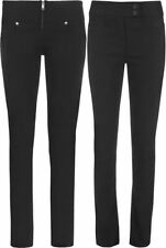 Polyester Mid Rise Regular Size Jeans for Women