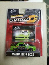 Jada 1/64 scale Import Racer Mazda RX-7 FC3S  mint in mint package