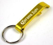 Corona Light Bier USA Flaschenöffner gold-gelb Schlüsselanhänger Öffner Opener