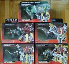 G1 Dinobot Grimlock Transformers Sludge Slag Swoop Snarl Set of 5 VER.NEW