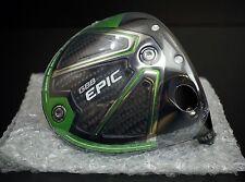 Callaway Golf Epic Sub Zero 9* Driver Head Only & Fits Bertha XR Shafts w/HC NEW