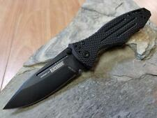 Blackhawk Hornet II Folding Knife AUS-8A Plain Edge Clip Pt Black G10 EDC 10025
