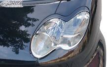 RDX Scheinwerferblenden SMAT fortwo C450 Böser Blick Blenden Spoiler Tuning