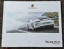 Porsche 911R (991.1) Sales Brochure - 66pgs - 03/2016 - Hardback