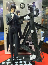 Anime Kuroshitsuji Black Butler SEBASTIAN MICHAELIS Book of Circus 1/8 Figure