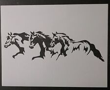 3 Horses Running Horse Pony 11