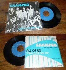 SHAMPOO - All Of Us Rare Belgium PS 7' Psych Prog 73'