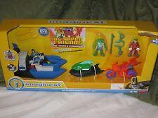 Fisher Price Imaginext DC Super Friends Gift Set Batboat Batman K Croc Joker