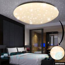 LED Deckenbeleuchtung Schlafzimmer Sternenhimmel Effektlampe Leuchte D 29 cm