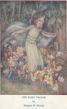 The Fairy Troupe by Margaret Tarrant. publ. Medici Society posted 1962