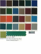 9' Simonis 860 Simonis Pool Table Cloth Felt Free CHALK
