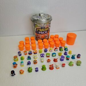 The Trash Pack Can with 41 Different Trashies & 21 Garbage Cans Assorted