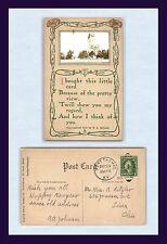 KENTUCKY FT THOMAS MAIN AVENUE POSTED 1914 TO MR. & MRS. A. RITZLER, LIMA OHIO