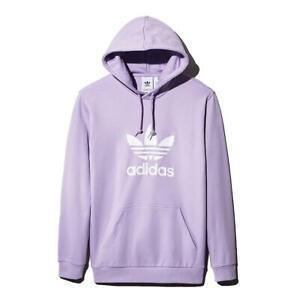 adidas Originals Mens Trefoil  Sweatshirt Fitness Hoodie Athletic BHFO 6333