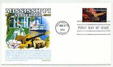 5190 Mississippi Statehood, Panda Cachets, FDC