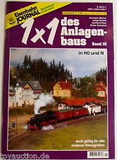 Eisenbahn Journal Maqueta de tren Biblioteca 1x1 del volumen Planta III