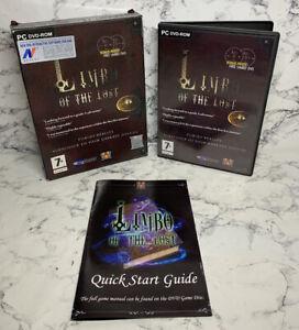 Limbo Of The Lost - 2007 - PC Game DVD ROM - VERY RARE BIG BOX Plus Bonus DVD