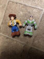 Disney Mini Figures Toy Story Buzz Amd Woody