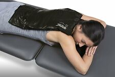 """NEW ColPac Cold Therapy Black Polyurethane Over-Size Cold Pack (12.5"""" x 18.5"""")"""