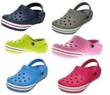 Sandali e scarpe grigi marca Crocs per il mare da donna gomma