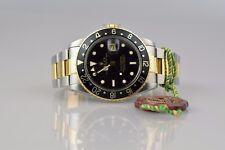 Rolex GMT Master 16753 ACCIAIO/ORO unpoliert con Rolex query & BOX - 1984