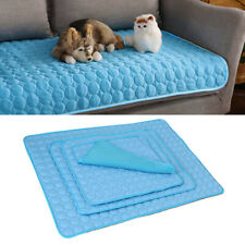 4 Sizes Pet Cooling Mat Dog Cat Bed Non-Toxic Cool Dog Summer Pad Dog Bed