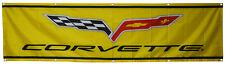 Corvette Flag Car Racing 2x8ft Banner US Shipper