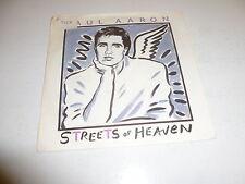 "PAUL AARON - Streets of Heaven - 1986 UK 2-track 7"" vinyl single"