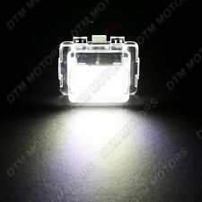 18-SMD LED 6000K License Plate Lights Lamp For Mercedes-Benz W204 W212 W221 C216