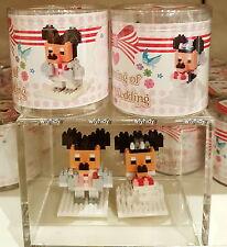 Tokyo Disney Resort MINNIE Mickey MOUSE  Wedding Nano Block   , #ok
