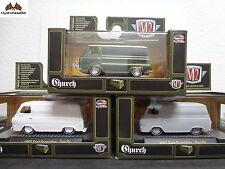 M2 Machines 1963 Ford Econoline - Van Go Set of 3 - 32500-S32 Dealer Only