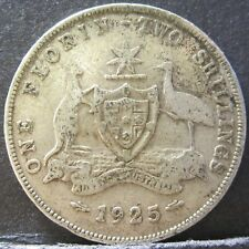 1925 Australia 2/- Two Shillings One Florin #RB1807-61