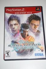 Virtua Fighter 4 Evolution GH (Sony Playstation 2 ps2) w/ Case