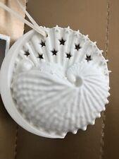 Vtg 2001 Margaret Furlong Baby'S First Christmas Porcelain Bisque Tree Ornament