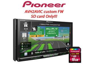 AVH2AVIC - Pioneer AVH-W4500NEX update to AVIC - SD card