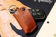 URBANWEST Buttero Leather Craft Remote Car Key Fob Cover Case for RANGE ROVER