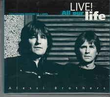 ALESSI BROTHERS Live! All Our Life 2009 CD & DVD HOLLAND rare & mint