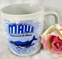 MAUI Mug Souvenir Playground of the Whales Coffee Cup