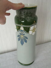 grand vase BFK Boch Frères Keramis Art Nouveau Belgique Belgium