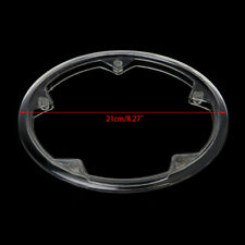 5 Holes Bike Bicycle Crankset Cap Clear Protective Gear Chain Wheel Cover Guard