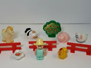 Vintage set of 11 piece farm set