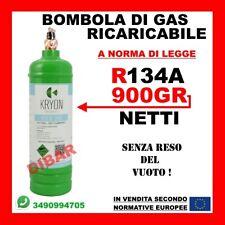 BOMBOLA GAS REFRIGERANTE R134A DA 1 LITRO RICARICA CLIMATIZZATORI AUTO