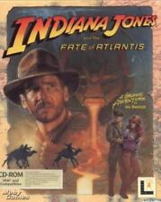 Indiana Jones and the Fate of Atlantis PC CD movie archaeologist game! w/ VOICE