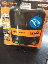 Gallagher M360 3.6-Joules Mains-Powered Fence Energizer G323504 BRAND NEW